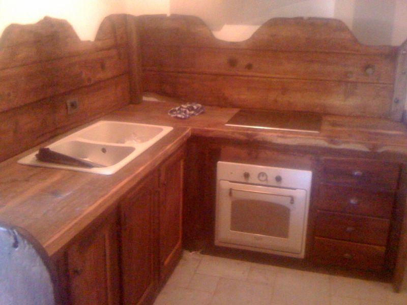 Arredamenti - Cucina rustica per taverna ...