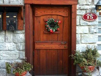 Zendri loris falegname artigiano scultore su legno - Porte esterne rustiche ...